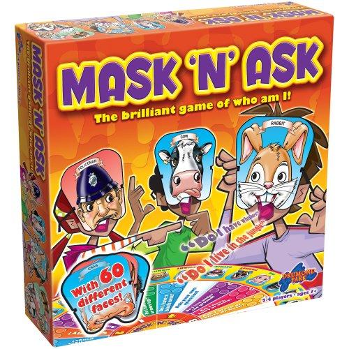 Drumond Park Mask 'N' Ask Brettspiel | Familien-Brettspiele für Kinder | Ratespiel & Vorschul-Lernspielzeug | Kinder Brettspiel geeignet für Kinder ab 6 7 8 9 Jahren
