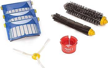 Irobot 600 Series Replenishment Kit: 3 Aerovac Filters, 1 Flapper Brush, 1 Bristle Brush, 1 Side Brush, 1 Round Cleaning Tool
