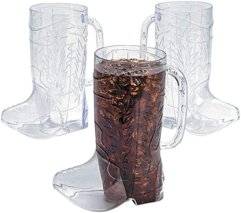 Cowboy Boot Mugs Max 83% OFF - Bulk Set Opening large release sale of 17 Holds oz Each 12 Weste