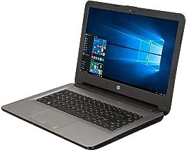 HP 14in HD WLED-backlit Laptop - AMD Quad-Core E2-7110 1.8GHz, AMD Radeon R2 Graphics, 4GB RAM, 32eMMC, NO DVD/CD, 802.11bgn, HD Webcam, WLAN, HDMI, Bluetooth, Win 10 (Renewed)