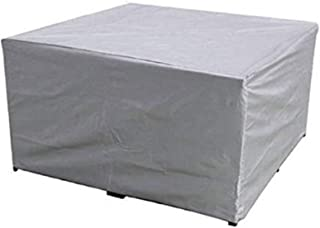 Garden Furniture Cover, 210D Oxford Cloth Rectangular Dining Table Cover, Waterproof, Can Resist Wind and Ultraviolet Rays...