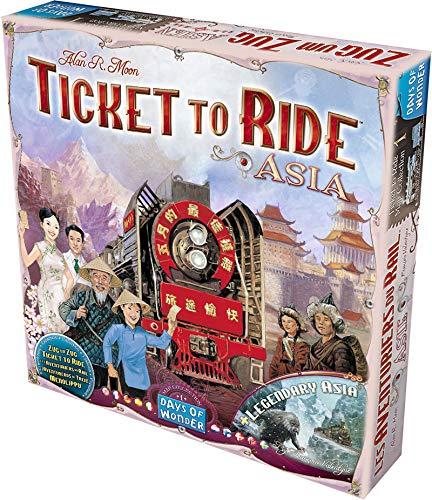 Asmodee 8501 - Ticket To Ride Asia, Edizione Italiana