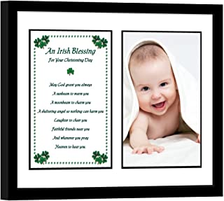Christening Gifts Baby Keepsake Frame Boy or Girl Add Photo