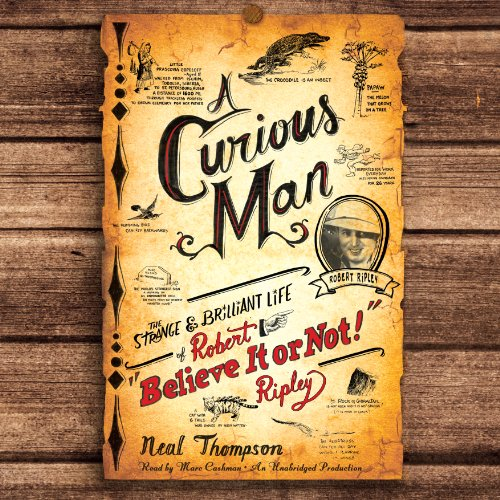 A Curious Man audiobook cover art