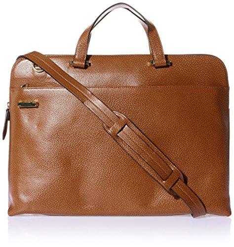 Lodis Women's Stephanie RFID Under Lock & Key Jamie Work Brief W/Laptop Pocket Bag, Chestnut, One Size