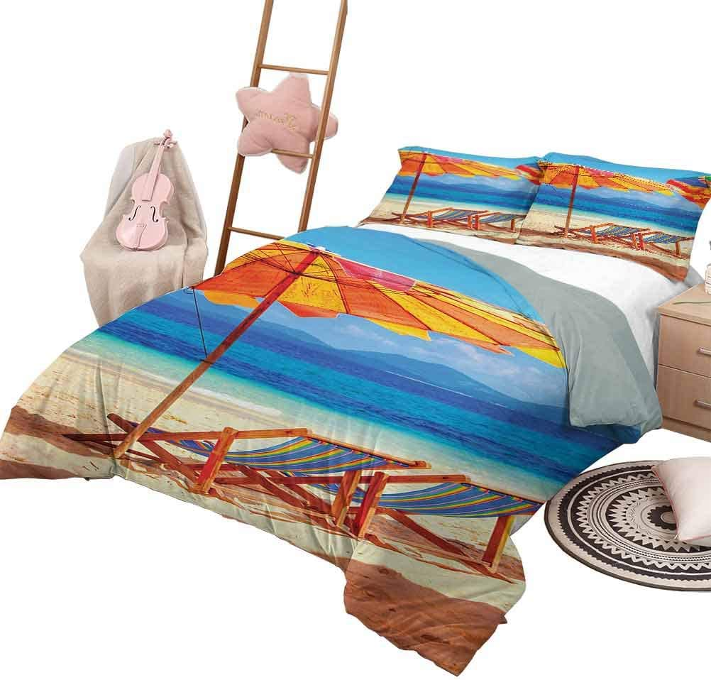 DayDayFun Many popular brands Quilt Set for Kids Seaside Luxe Outstanding Bedding Piece Oversi 3