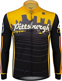 Pittsburgh Long Sleeve Cycling Jersey - Made in The USA