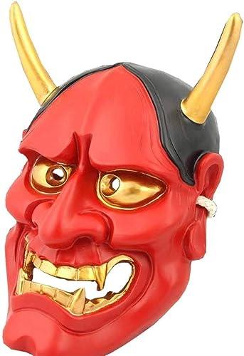 Envío 100% gratuito Máscara Máscara Máscara de Halloween Budista Malvado Oni NOH Hannya Vampiro Fantasma Disfraces de Disfraces Cosplay máscara para hombres y mujeres Traje de Fiesta  solo para ti