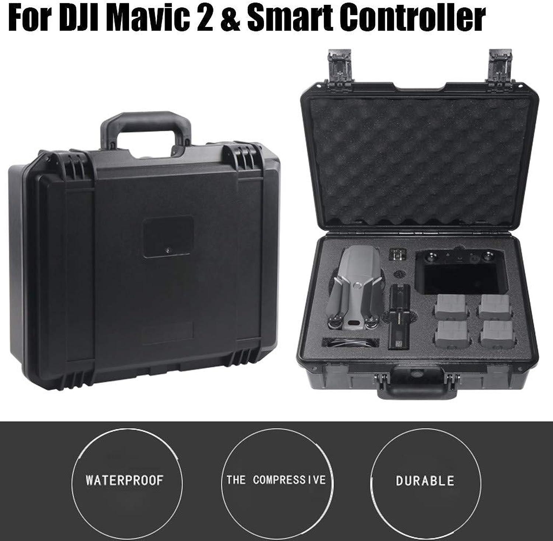 Celendi Military Spec Hardshell Carrying Case Bag for DJI Mavic 2 & Smart Controller
