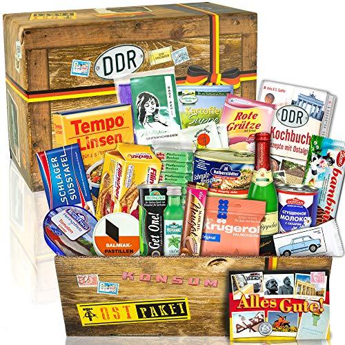 Ostpaket mit DDR Spezialitäten / Geschenk zu Geburtstag für Freundin