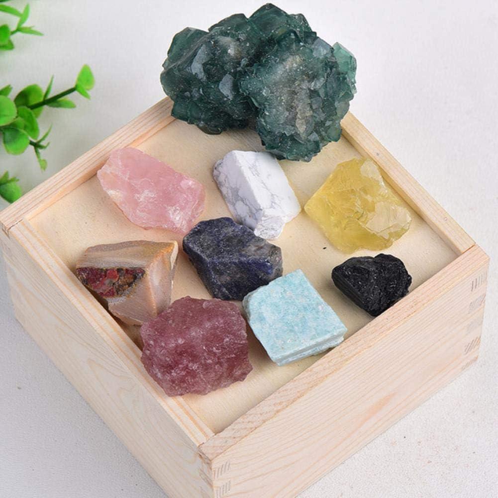 YELVQI 1PC Max 90% OFF Natural Crystal Quartz Specimen Amethyst Ros Minerals trust