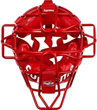 Supreme Rawlings Catcher's Mask 100% Authentic Real Red Baseball Sold Out Supreme New York Rare