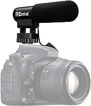 Camera Microphone,Emiral Interview Microphone,Shotgun Video Microphone for DSLR Camera/DV Camcorder