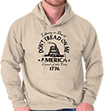 Don't Tread on Me Snake Flag Political USA Hoodie