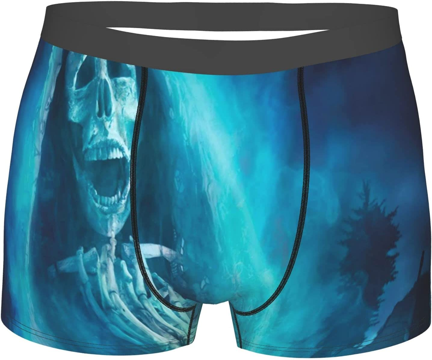 Max 52% OFF YAZXHJAZ Underwear Mens Boxer Briefs Halloween Fort Worth Mall Dead Gothic Dark