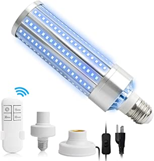 60W Lamp for Car Living Room Bedroom(Remote Control Timer 15 min/ 30 min/1 Hour)