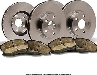 (Front+Rear Kit)(OE SPEC)(Perfect-Series) 4 Disc Brake Rotors & 8 Ceramic Pads(5lug)