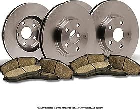 Front + Rear Rotors Ceramic Pads OE SPEC Disc 2005 Saab 92x w/Linear 2.5L Engine