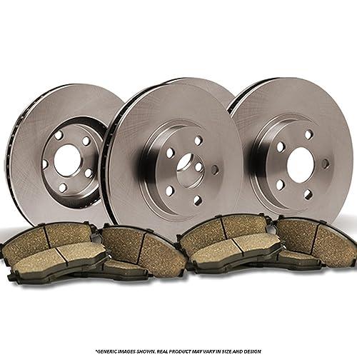 Front /& Rear Brake Rotors For 2004-2008 Suzuki Forenza 2005 2006-2008 Reno