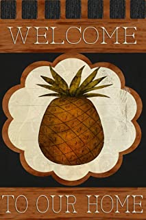 Best pineapple welcome flag Reviews
