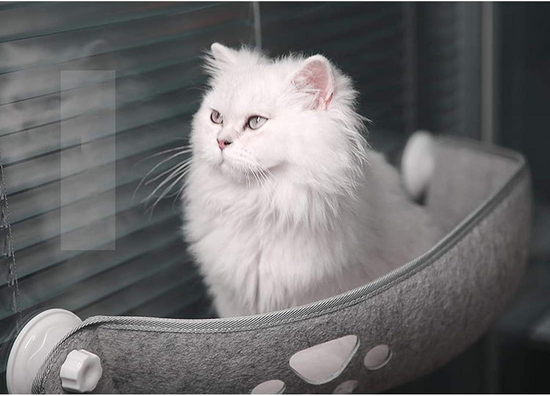 Cat Window Bed Cat Hammock Window Cat Window Hammock Pet Sunny Seat Cat Bed Window Washable Hanging Nest Cutout Cute Sunbathing + Daydreaming 67 × 25CM Can Bear 15KG,A