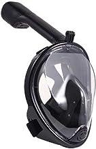 Veilig snorkelmasker, volgelaatsmasker, duikmasker, volgelaatsmasker, snorkelmasker met 180 graden gezichtsveld en camerah...