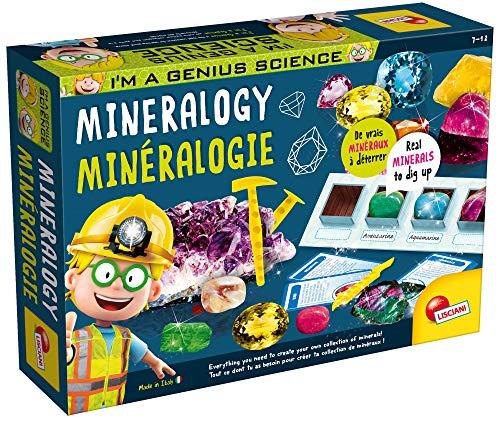 Lisciani - I'm Genius - El Laboratorio de la Mineralogía - Juego educativo científico para niños a partir de 7 años - Versión Multilingua (EX56194)
