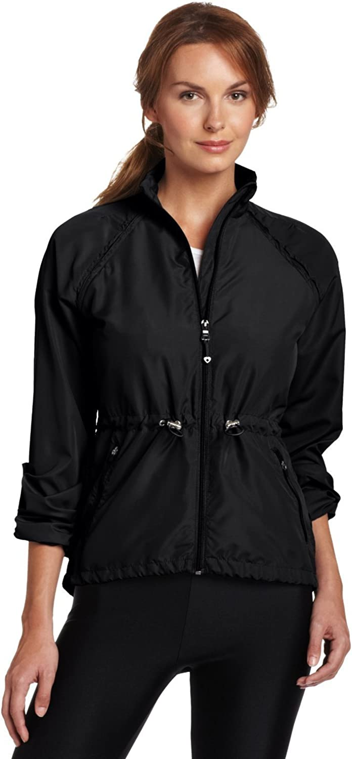 Colosseum Women Breeze Our shop OFFers the best service Breaker Warm Large special price Jacket Black up