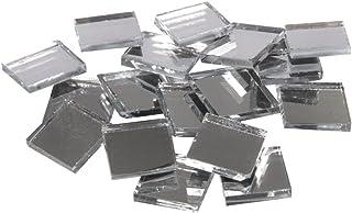 """Rayher pierres mosaà¯que miroir €"""" mosaà¯ques verre carrés €"""" seau de 1900 pièces de mosaà¯que miroir €"""" 1x1 cm pour une s..."""