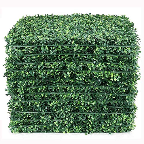Nevay Planta de césped artificial tabla de césped valla de pared para el hogar, jardín, decoración de fondo biónico cuento de hadas césped artificial 40 x 60 cm