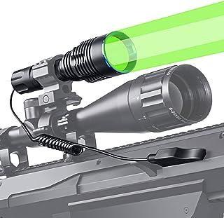 ANEKIM Tactical Flashlight 1586 Yards Green Hunting...