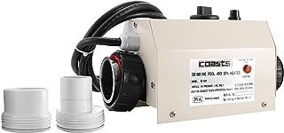 Moracle Termostato 220 V 3KW Termostato del Calentador de Agua 48(mm Diámetro para Piscina Controlador de Temperatura Automático 48(mm Calentador Portátil de la Piscina (50mm)