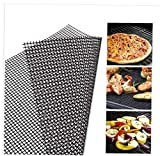 2PC <span class='highlight'>BBQ</span> Grill Mesh Mat Non-Stick Cooking Mats Grilling Sheet Liner Grill <span class='highlight'>Accessories</span> for Use on Gas,<span class='highlight'>Charcoal</span>,Electric Barbecue(30 * 40CM) <span class='highlight'>BBQ</span> <span class='highlight'>Accessories</span>