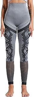 Dawwoti Active Tights for Women Full-Length Running Pants Tummy Control Yoga Leggings