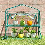 Educational Insights GreenThumb Greenhouse With Vinyl Cover, Perfect For Classroom, Home, and Herb Gardens- Indoor/Outdoor Gardening