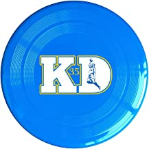 AOLM Basketball Player No.35 KD Outdoor Game Frisbee Light Up Flying Yellow