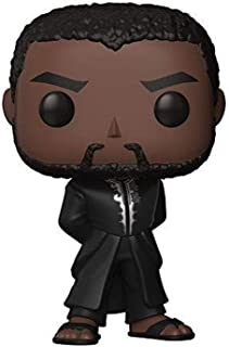 Funko Pop Marvel Black Panther Robe Collectible Figure, Multicolor