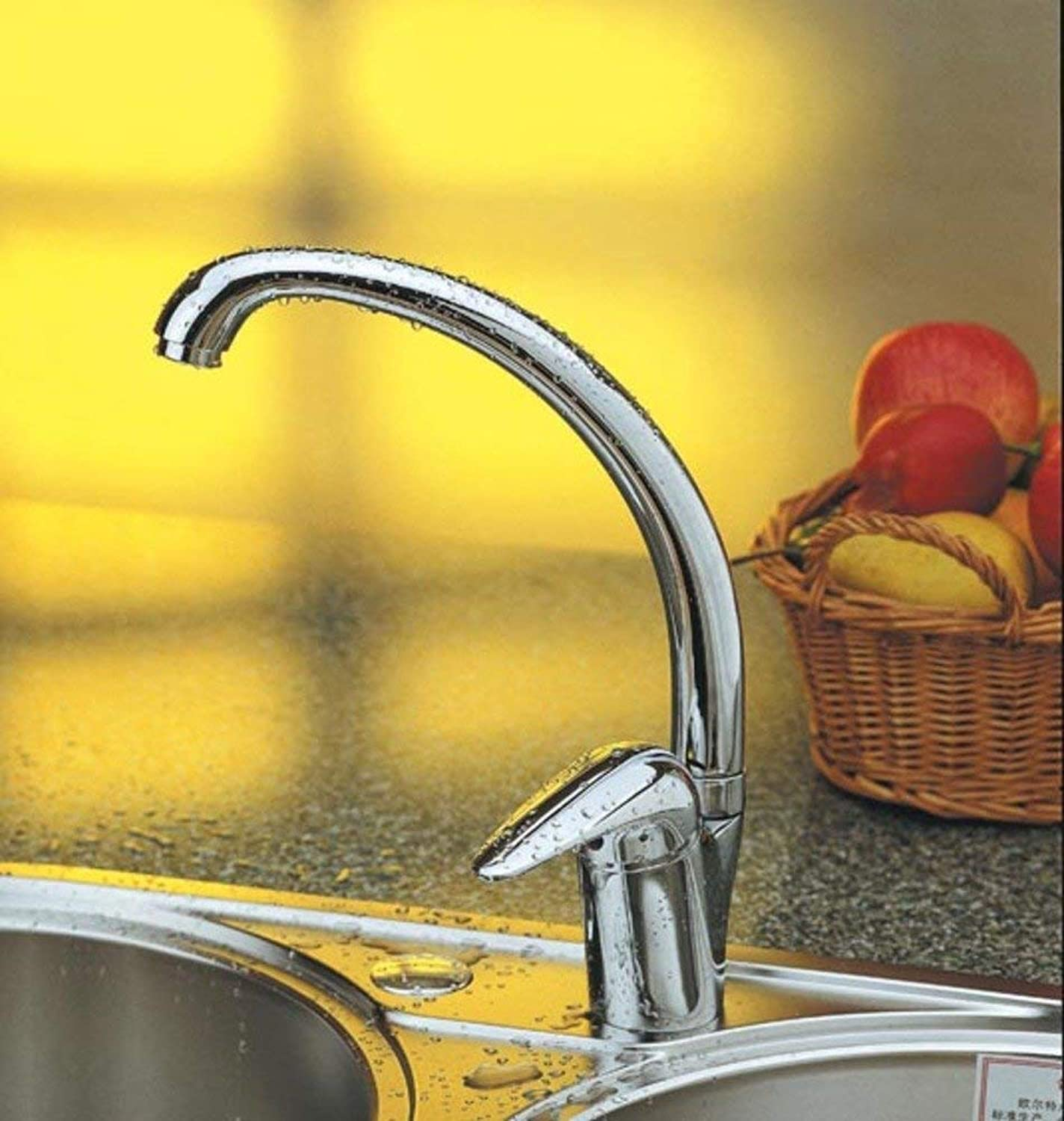 Oudan Hot and cold copper kitchen faucet Sell high redating wash basin sink faucet (color   -, Size   -)