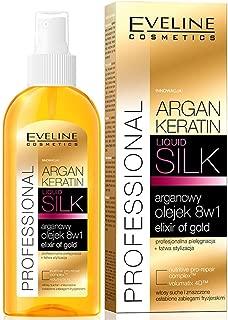 Eveline Argan Keratin Silk Hair oil 8IN1