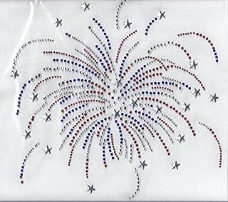 Iron on hot fix Design motif for shirts Rhinestone Transfer Bling Hot Fix Iron on Patch Motif Design Transfer TZ439 Bling shirts