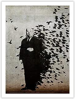 Banksy Hitchcock The Birds Graffiti Poster Unframed (18x24)
