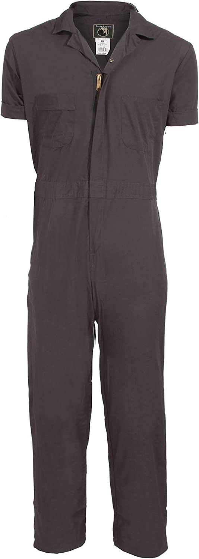 Berne Men's Big & Tall Poplin Short Sleeve Coverall