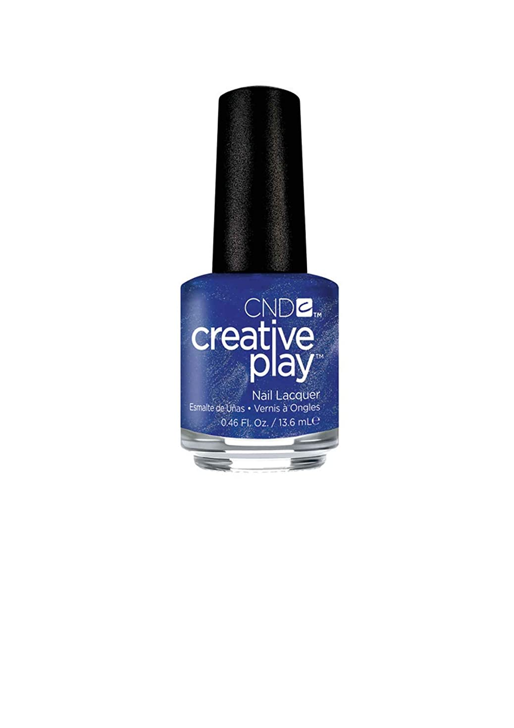 常に絶えずスペイン語CND Creative Play Lacquer - Viral Violet - 0.46oz / 13.6ml