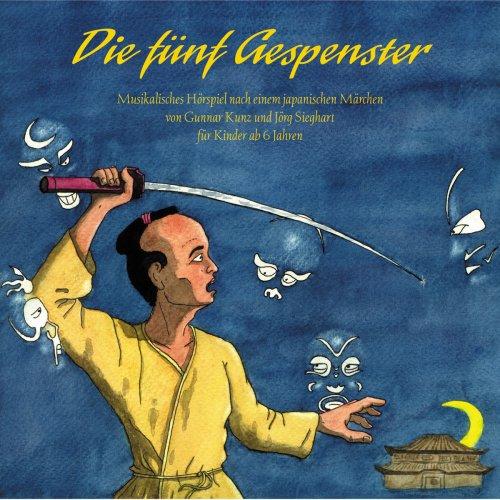 Märchen Hörspiel CD für Kinder 'Die fünf Gespenster'