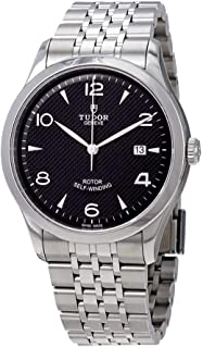 Tudor 1926 Automatic Black Dial Men's Stainless Steel Watch 91650-0002