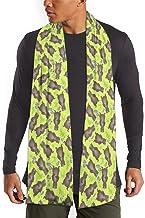 MoMo Patrón Marmotas verde Hombres bufanda de la cachemira caliente sedoso - bufandas de algodón para el invierno
