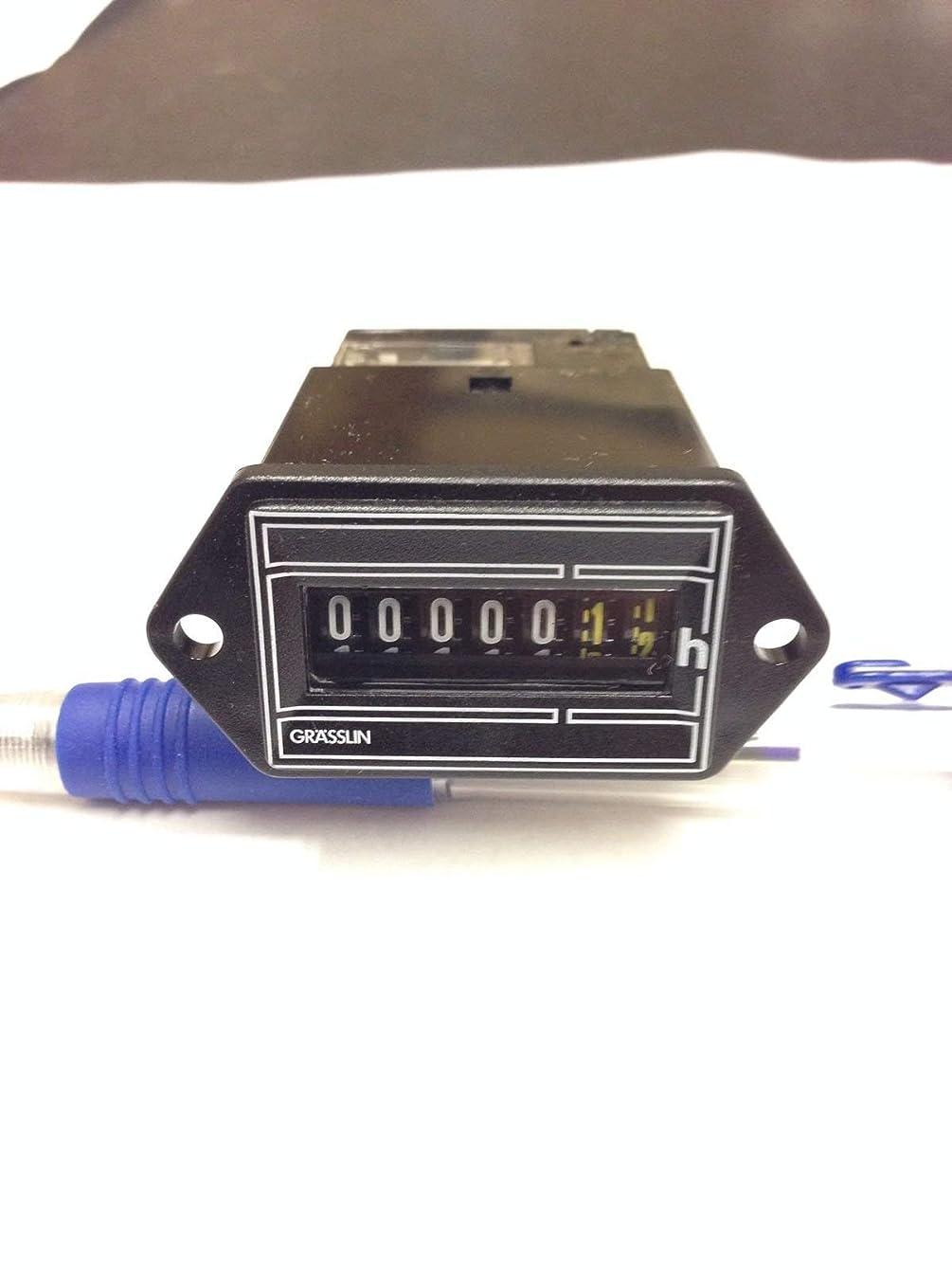 Grasslin Hour Meter FWZ35 24 To 30 Volt AC Timer FWZ35-24u filter air conditioner run hours