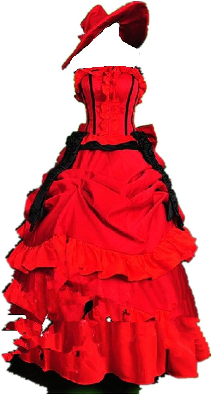 BLACK BUTLER MADAME RED Lolita cosplay costume
