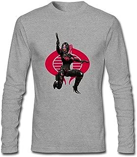Men's G.I.Joe Baroness Long Sleeve Cotton T Shirt