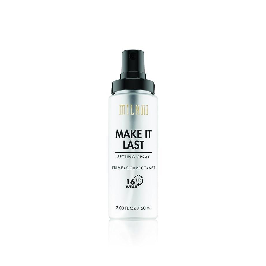 教育者軍団注文MILANI Make It Last Setting Spray - Prime + Correct + Set (並行輸入品)